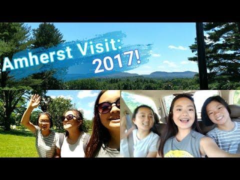 AMHERST COLLEGE VISIT 2017🏔️🌻  Christine Lee