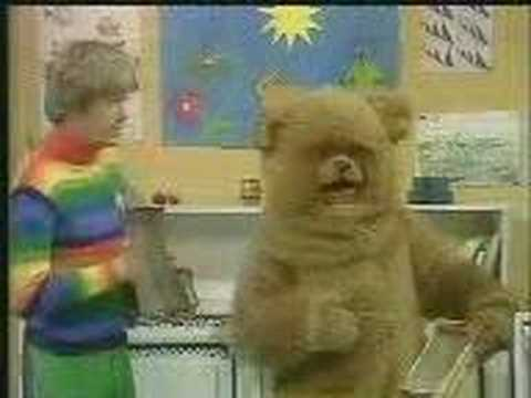 UK Childrens TV (Rainbow) show with double entendres