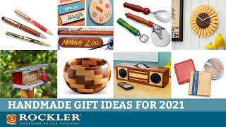 Woodworking Projects that Make Great Gifts