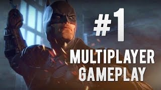 Video Batman: Arkham Origins - Online Multiplayer Gameplay #1 (Robin Gameplay) download MP3, 3GP, MP4, WEBM, AVI, FLV Juli 2018