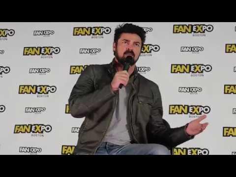 Karl Urban panel @ Boston Comic Con 2017 Star Trek