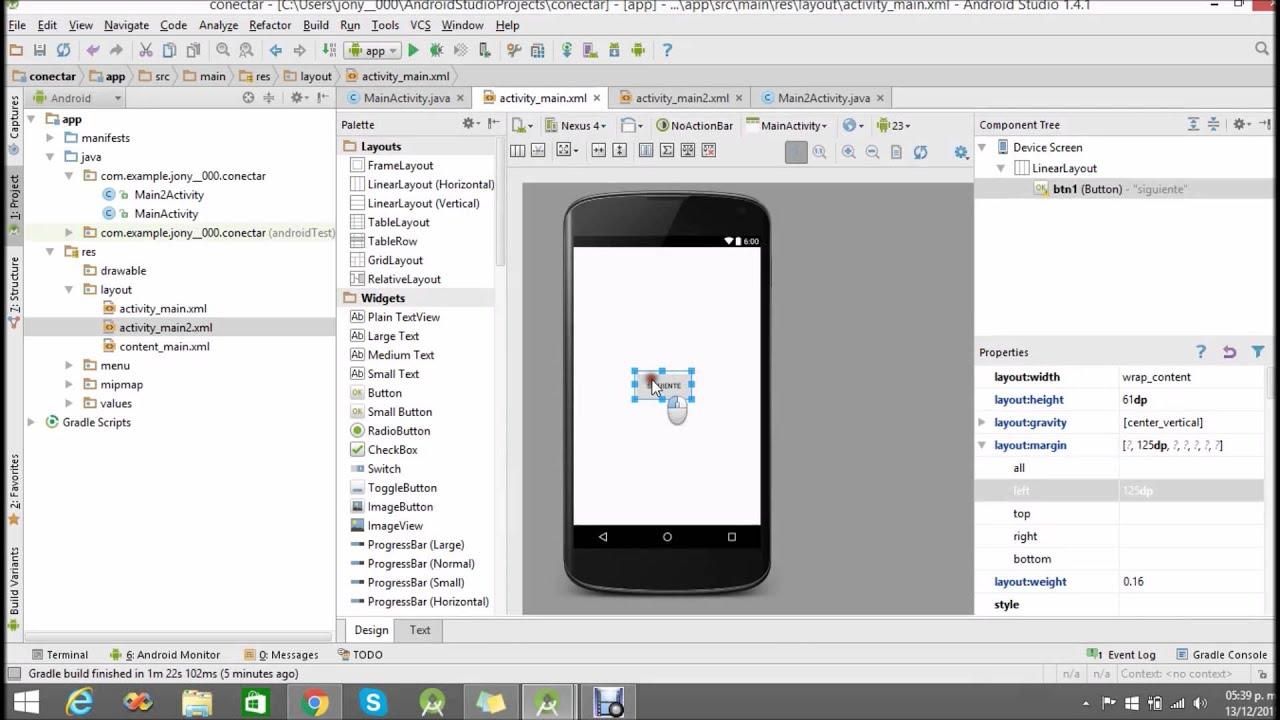 Библиотека поддержки Android Design: Исходный …
