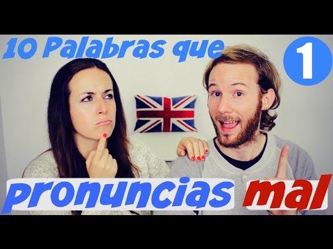 10 palabras que pronuncias mal en inglés 1