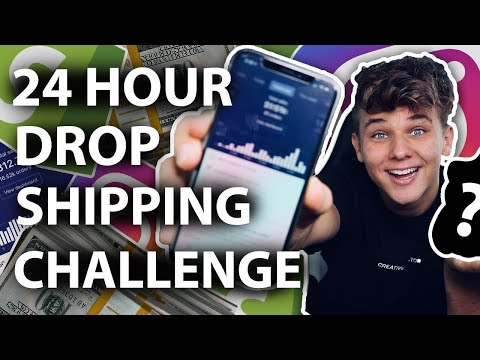 24 Hour Shopify Dropshipping Challenge Product Revealed