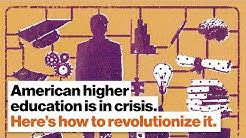 American higher education is in crisis. Here's a plan to revolutionize it. | Todd Mcleod | Big Think