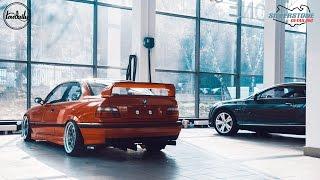 BMW E36 Lowdaily X Silverstone Detailing. Полировка и Нанокерамика. 4K.