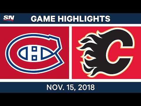 NHL Highlights | Canadiens vs. Flames – Nov. 15, 2018