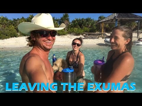 Leaving the Exumas for Nassau - Sailing Doodles Episode 41