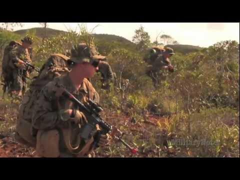 U.S. Marines Security Patrol - New Caledonia (Part 3) AMERCAL 2011