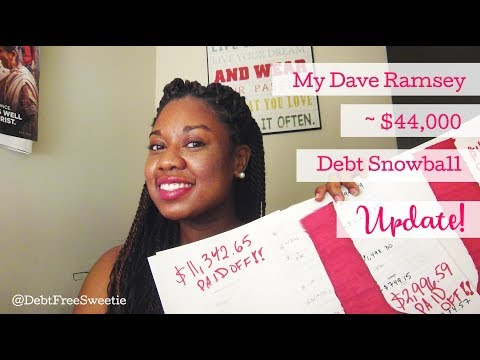 Debt-Free Journey Update 09/17 | Dave Ramsey's Baby Step #2 (@DebtFreeSweetie)