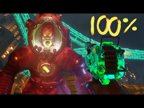 BLACK OPS 3 ZOMBIES - 100 PERCENT COMPLETION CHALLENGES ATTEMPT!!! (BO3 Zombies Gameplay)