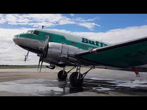 Buffalo Airways DC-3 C-FLFR - Part of the free Hangar Tour
