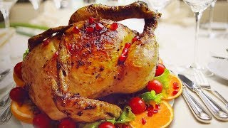 Курица целиком: красивое блюдо для праздничного стола!