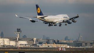 Planespotting Frankfurt Airport January 2018
