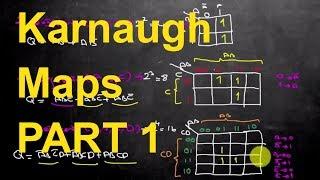 Karnaugh (Karno) Haritaları Bölüm 1 :Karnaugh Nedir,Ne İşe Yarar, Karno Haritası Oluşturma