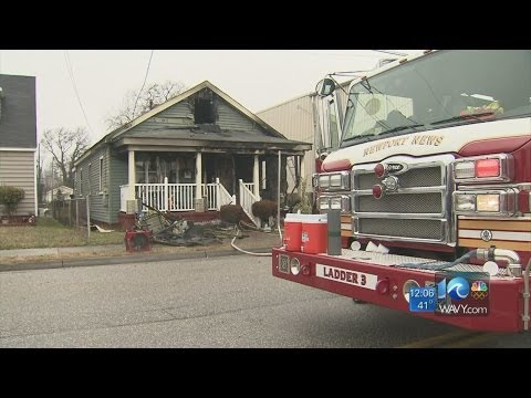 Fire destroys Newport News home