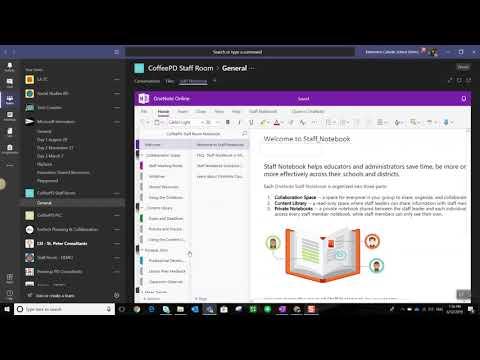 OneNote Notebooks in Microsoft Teams