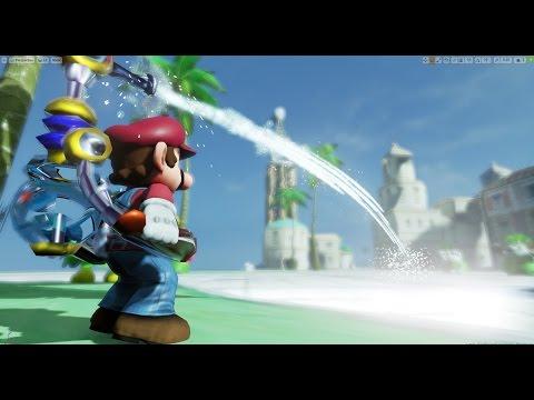 Unreal Engine 4 [4.14]  Super Mario Sunshine + Download Link