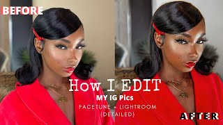 HOW I TAKE & EDIT MY INSTAGRAM PICTURES | Catfishing 101 with Aissata Diallo