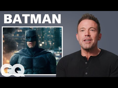 Ben Affleck Breaks Down His Most Iconic Characters | GQ