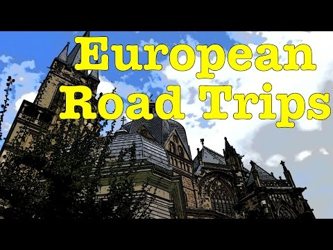 Road trip to Aachen, Germany - Aachen Cathedral, Aachen Rathaus