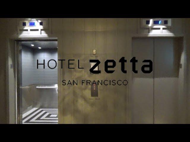 Nicely Modded Dover Traction Elevators-Hotel Zetta-San Francisco, CA