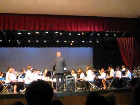 Goleta Valley Junior High School Advanced Band ROCKS!!!