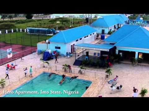 Aerial video of Hero Apartment, Nigeria (bellevuesolutions)