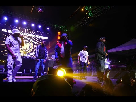 "WU TANG CLAN  ""Da Mystery Of Chessboxin'"" at Chalice Festival"