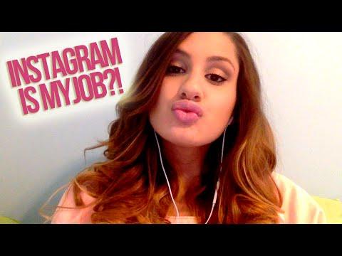 INSTAGRAM IS MY JOB?!