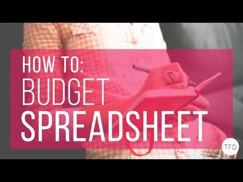 How To Make A Budget In Excel | The Financial Diet