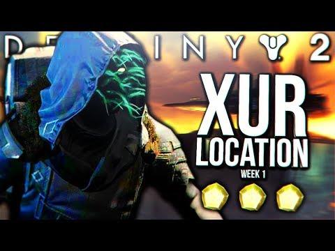 Destiny 2 - XUR INVENTORY & LOCATION 9/15 Week 1 (Destiny 2 Xur)
