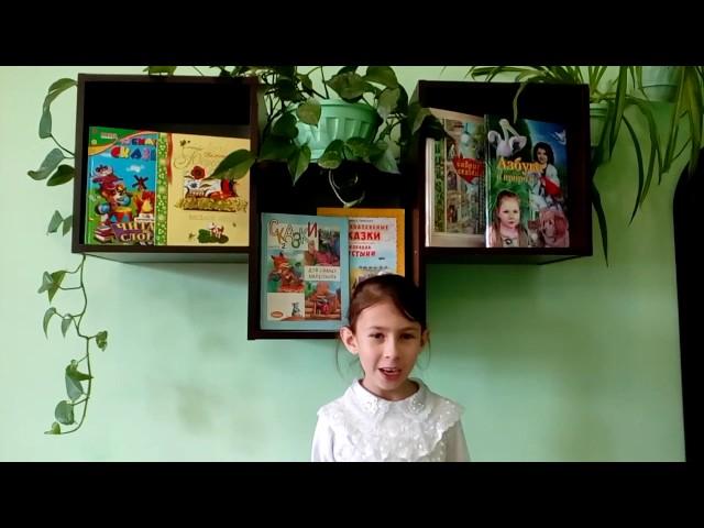 Изображение предпросмотра прочтения – ВикторияКуприна читает отрывок изпроизведения «Бородино» М.Ю.Лермонтова