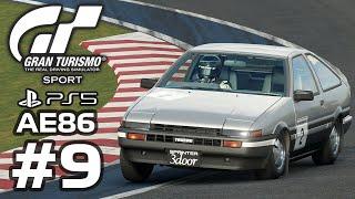 GRAN TURISMO SPORT - Toyota AE86 overtaking M4 in a 90% Car Handicap Race?? - Gameplay - Part 9