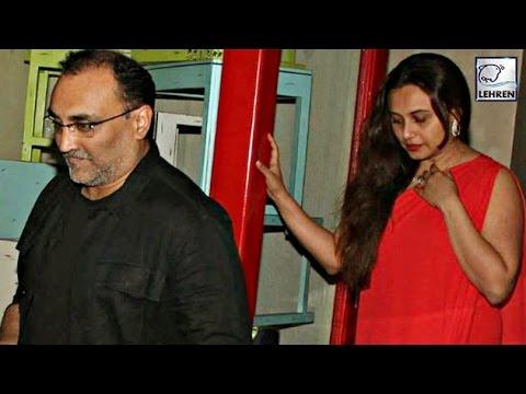 Rani Mukerji & Aditya Chopra's Public Appearance After Wedding  | LehrenTV