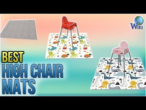 10 Best High Chair Mats 2018
