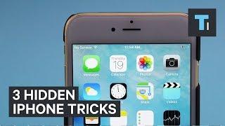 3 hidden iPhone tricks