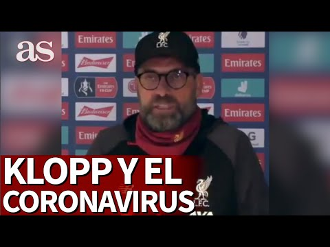 A aplaudida resposta de  Klopp sobre o coronavirus que dá a volta ao mundo