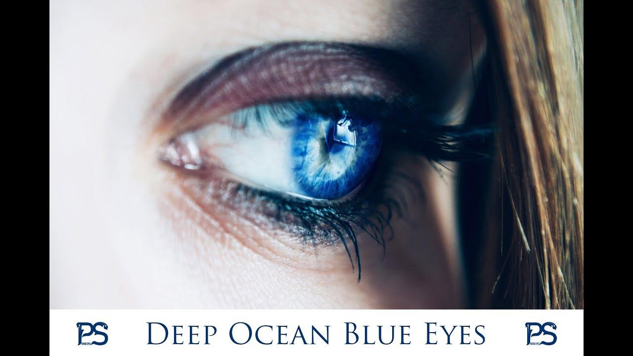 Deep Ocean Blue Eyes / Change Eye Color / Powerful