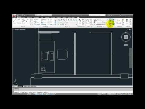 AutoCAD 2012 - Creating and Working with Object Groups