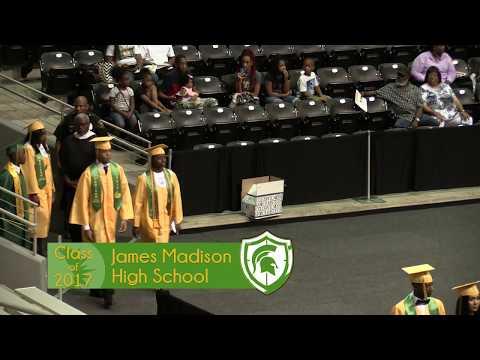 James Madison High School - 2017 Graduation