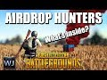 AIRDROP HUNTERS - 5x Airdrops in a single game - PLAYERUNKNOWN's BATTLEGROUNDS (Solo)