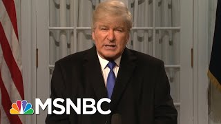 Alec Baldwin Spoofs Trump In SNL Cold Open | Morning Joe | MSNBC