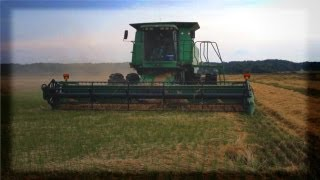 Harvesting Rice in Arkansas with Flexxifinger™ Flexxifloat™ Crop Lifters