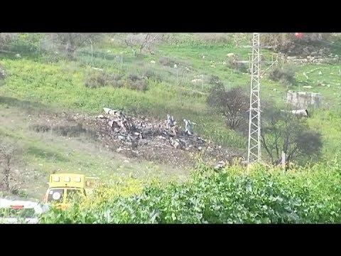 Siria Derribó Un Caza Israelí Que Participaba En Una Operación Contra Objetivos Iraníes