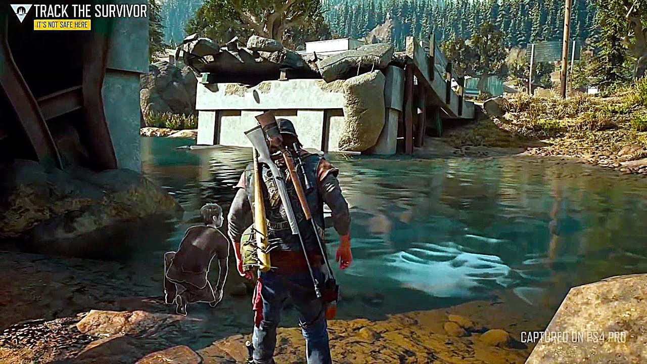 DAYS GONE - 95 Minutes of Gameplay PS4 (2019) Zombie Game