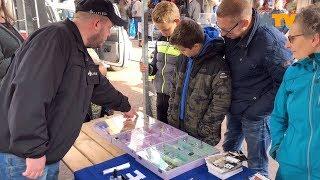 Veiligheidsmarkt in Sleeuwijk goed bezocht - Altena TV