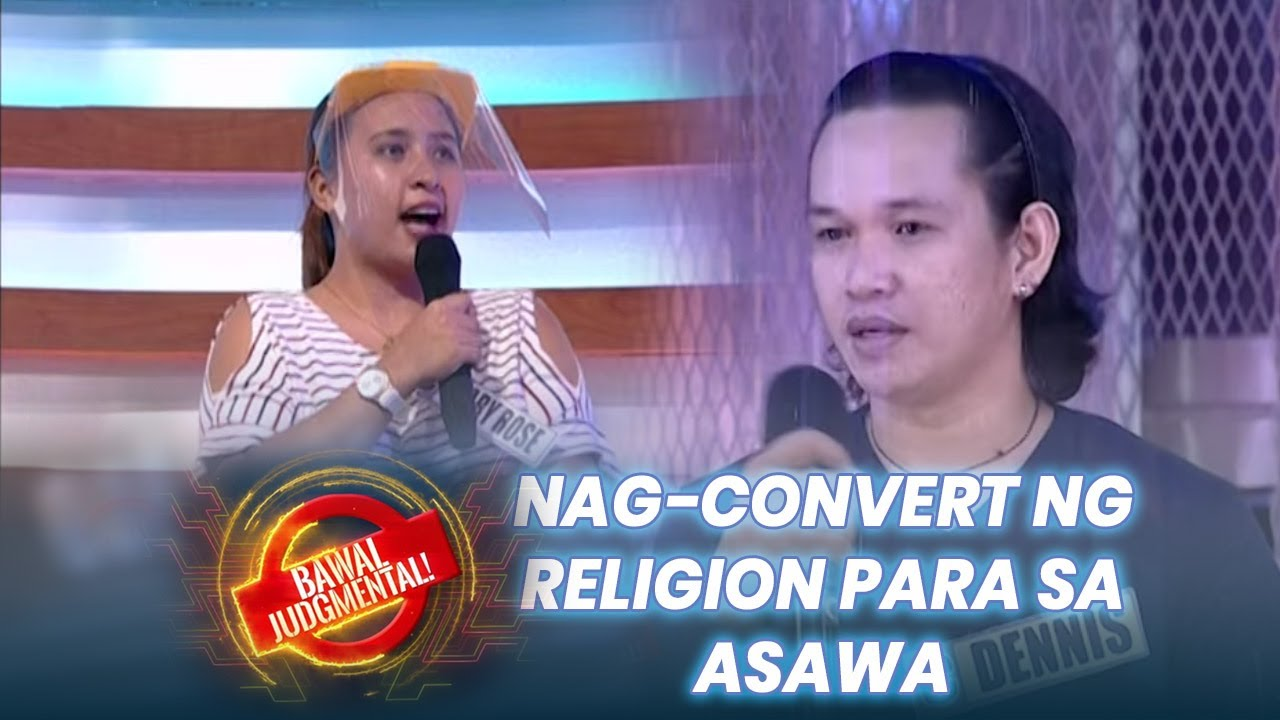 Nag-convert Ng Religion; Di Alam Ng In-Laws | Bawal Judgmental | October 9, 2020