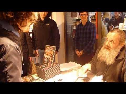 Alan Moore on Neil Gaiman