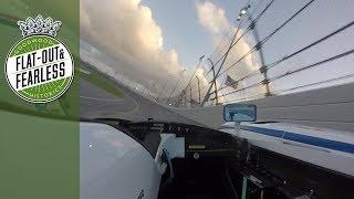 Le Mans winning Audi attacks Daytona   on board